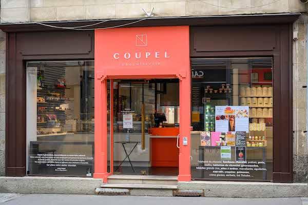 La boutique Coupel Chocolaterie à Rennes
