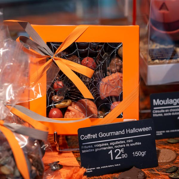 coffret gourmand halloween