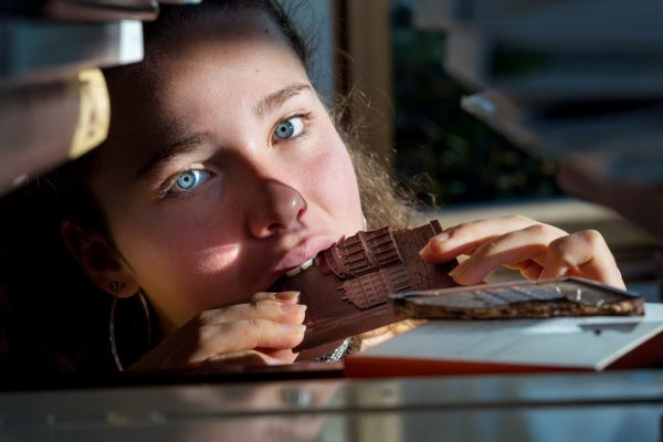 opéra de rennes en chocolat